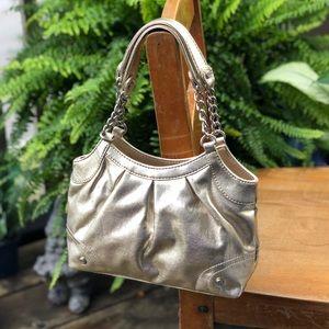 Small champagne shoulder bag | Liz Claiborne